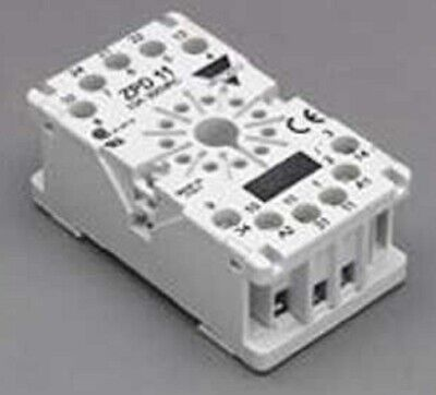 Carlo Gavazzi PLUG IN SOCKET BASE 11-Pin For Time Delay Relays, Screw Connection