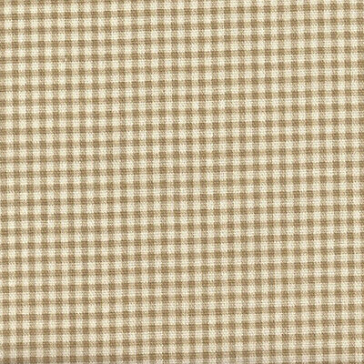 Tailored Valance in French Country Linen Beige Gingham, Lined