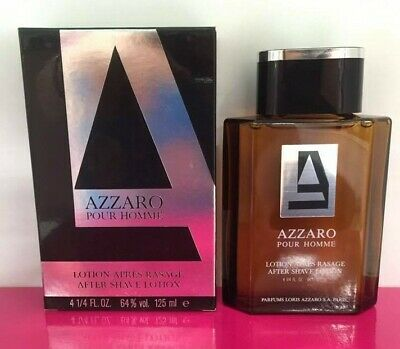 Azzaro Azzaro Pour Homme After Shave 125ML Splash (No Spray) New & Rare