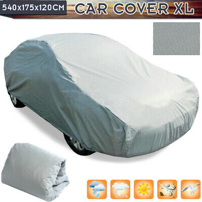 Universal Full Car Cover Snow UV Resistant Anti-Scratch Dust Protect Waterpoof