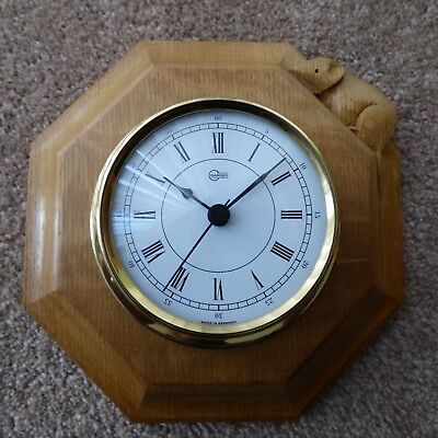 Beautiful Mouseman Clock.