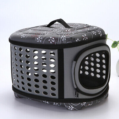 Portable Travel Pet Dog Carrier Handbag Bag Front Bag Head Out EVA Backpack