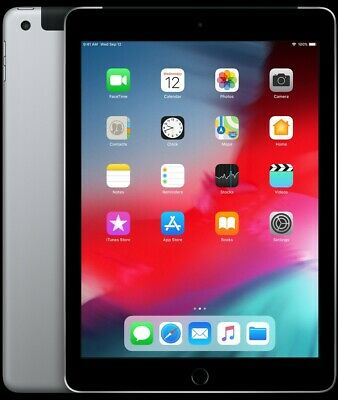 Apple iPad 6th Gen. 32GB, Wi-Fi + Cellular, 9.7in - Space Grey