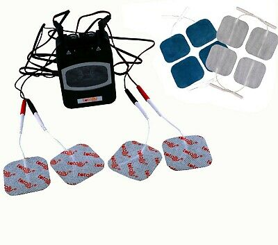 Analogue TENS Machine Dual Channel TPN With Quality Hypoallergenic Square Pads