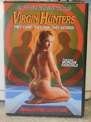 VIRGIN HUNTERS AKA Test Tube Teens From the Year 2000 (DVD) RARE 80's COMEDY