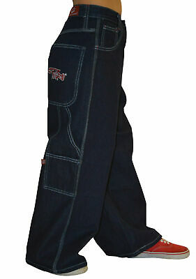 Boys Board wear Indigo Denim Baggy Carpenter Skater Jeans