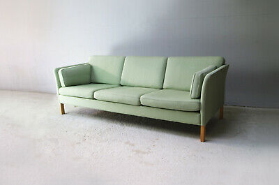1970's Danish mid century large 3 seater sofa
