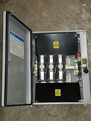 MEM Glasgow 200A 203GNCX Fused Switch Disconnector Fuseswitch 3 Phase 200 Amp