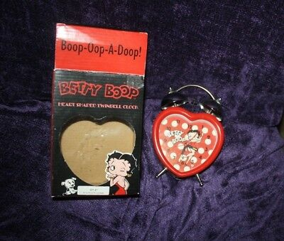 Betty Boop alarm clock in original box works