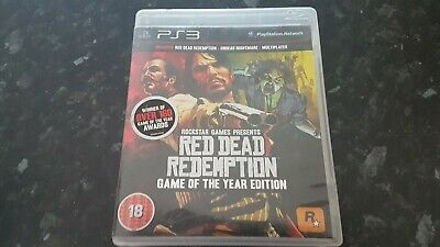Red Dead Redemption - Game of the Year Edition for Sony PS3