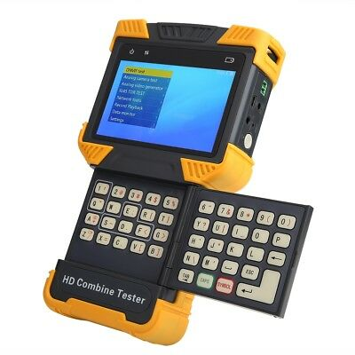 """4"""" DT-T70 CCTV Tester 1080P IP Analog Camera Testing HD Combine Test SS"""
