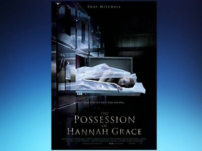 Filmplakat: THE POSSESSION OF HANNAH GRACE   A1 59 x 84 cm Gruselplakat