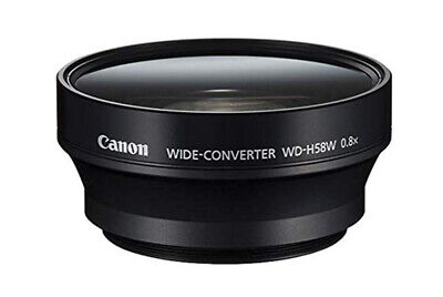 Genuine Canon WD-H58W Wide Converter Lens New Boxed by Authorised UK Supplier