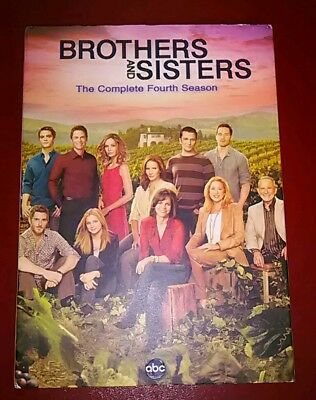 Brothers and Sisters season 4 factory sealed NEW nip with slip cover
