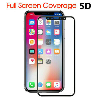2X Anti Scratch Tempered Glass Screen Protector For Apple iPhone X 8 7 6s 6 Plus