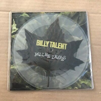 """Billy Talent - Fallen Leaves - 7"""" Picture Disc - UNPLAYED - Discount For 2+"""