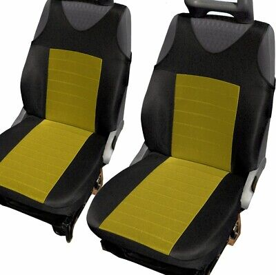 Vauxhall Astra Vectra Insignia Yellow Gold 2 Front Quality Car Seat Covers