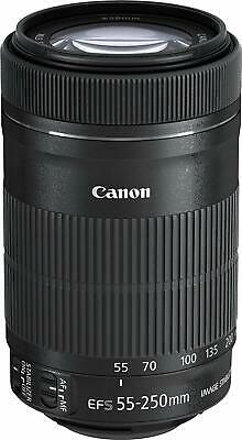 Canon Telephoto Zoom Lens EF-S55-250mm F4-5.6 IS STM APS-C EF-S55-250ISSTM
