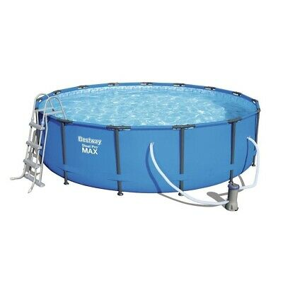 """Bestway 15ft x 48"""" Steel Pro MAX Above Ground Frame Swimming Pool Set (56438)"""