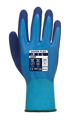 Mens Waterproof Garden Gloves, Grab & Grip Gloves,flex Latex Palm, Pruning,work,