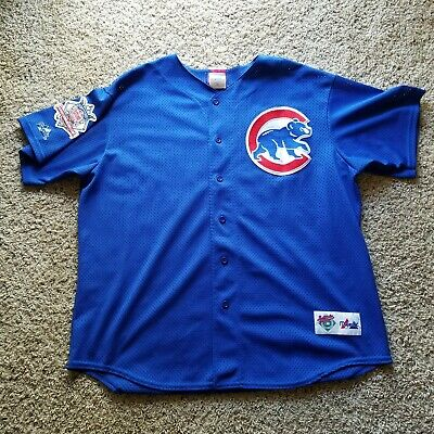 0d342485c73 Chicago Cubs Sammy Sosa  21 Vintage 90s Majestic MLB Baseball Jersey Mens XL