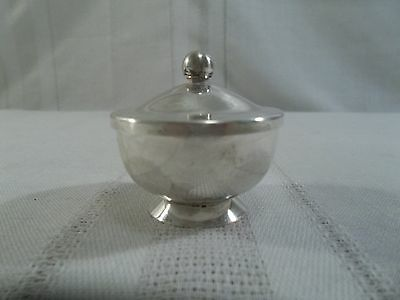 Vintage Revere Silversmiths Sterling Silver Saccharine Bowl with Lid