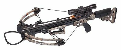 CenterPoint Specialist XL 370 Compound Crossbow w/ Arrows, Scope AXCSP185CK
