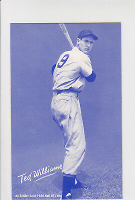 1980 Ted Williams Exhibit Hall of Fame Blue - Boston Red Sox