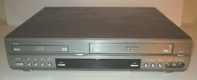 Samsung DVD-V1000 DVD VHS Combo Player  TESTED WORKING