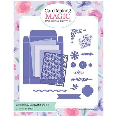 Card Making Magic Die Set Complete A2 Card & Box Set of 20 | Christina Griffiths