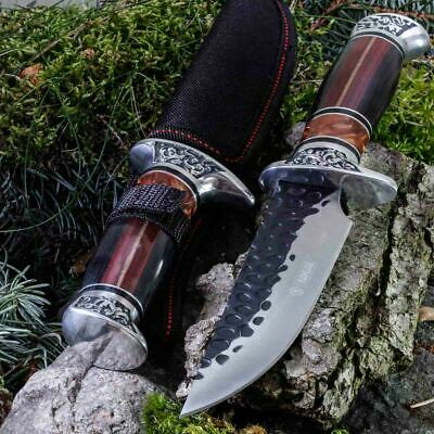 11.93in KANDAR A051-2 FIXED BLADE KNIFE HUNTING A.