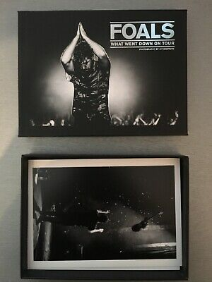 FOALS - What Went Down On Tour - Very Rare Limited Edition Postcards