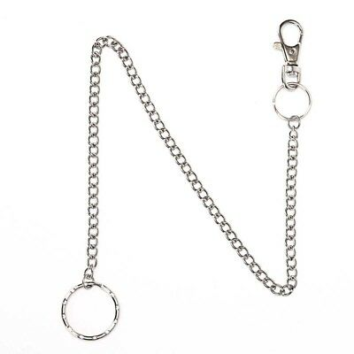 38cm Wallet Belt Ring Clip Chain Punk Trousers Hipster Jean Keychain Keyring FBB