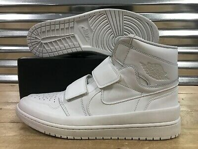 a98f9f1f6d9 Nike Air Jordan 1 Retro Hi Double Strap Shoes Summit White SZ 15 ( AQ7924-