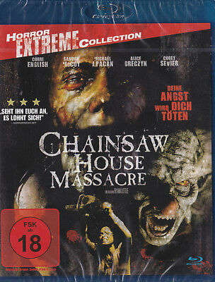 Chainsaw House Massacre - Horror Extreme Collection - BluRay - *NEU*