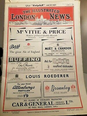The Illustrated London News Mag. Her-Neit's Jewels Egyptian Queen's Tomb 1956