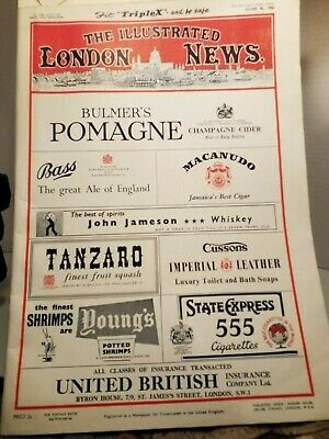 The Illustrated London News Mag. Queen of Moden's Vanished Crown WIMBELDON 1956