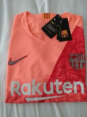 Barcelona Fc Nike Shirt With Coutinho 7 On Back Brand New With tags