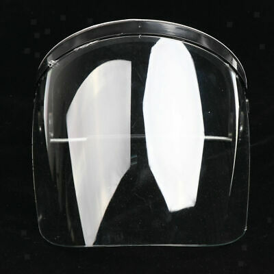 CN_ White protective gear Clear Face Safety Shield Welding Cooking safeguardin
