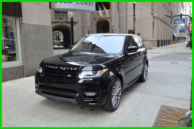 2016 Land Rover Range Rover Sport V8 Supercharged ATB 1-owner rudy@7734073227 2016 5.0L V8 Supercharged Autobiography Used 5L V8 32V Automatic 4WD SUV Premium