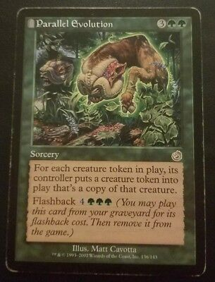 Parallel Evolution ~ Torment ~ Excellent//Moderately Played ~ Magic The Gathering