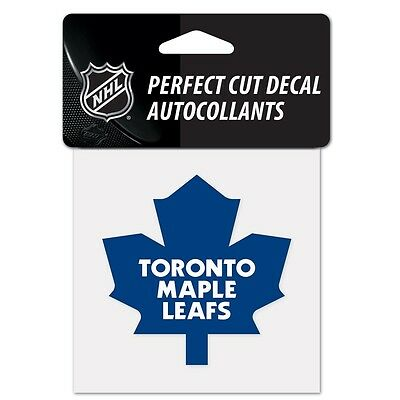 "Toronto Maple Leafs Perfect Cut 4""x4"" Color Decal [NEW] Auto Sticker Emblem NHL"