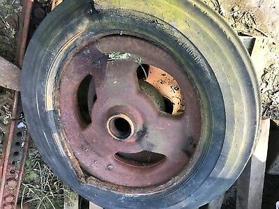 Fordson Major Tractor cast front wheel 3 spokes