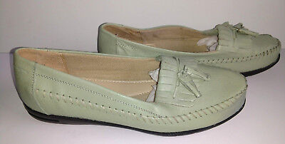Comfort Shoes Women's Shoes Women's Dr Scholl's Tassel Loafer Air-pillo Insole Size 6m Tan New Nwob For Sale