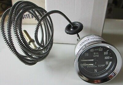 SMITHS classic MG DUAL GAUGE 52mm Oil pressure Water Midget MGB GD1301-21 C072