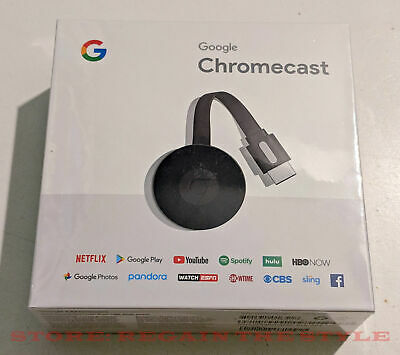 Google Chromecast HDMI Digital Media Streamer Genuine  2nd Gen GA3A00093A14Z01