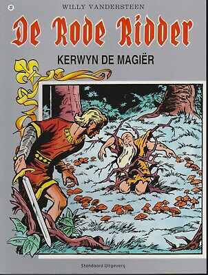 Strip De Rode Ridder Willy Vandersteen 20 KERWYN DE MAGIER Kerwijn magiër