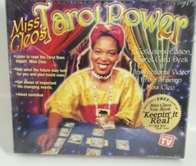Miss Cleo's Tarot Power Collectors Edition NEW