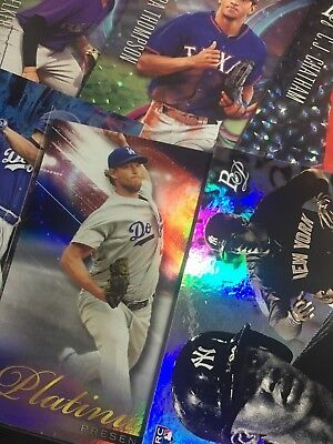 2018 Bowman Platinum Inserts Rookies - Pick Your Player