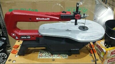 Einhell Tc-Ss 405E Scroll Saw In Excellent Condition With Box And Instructions